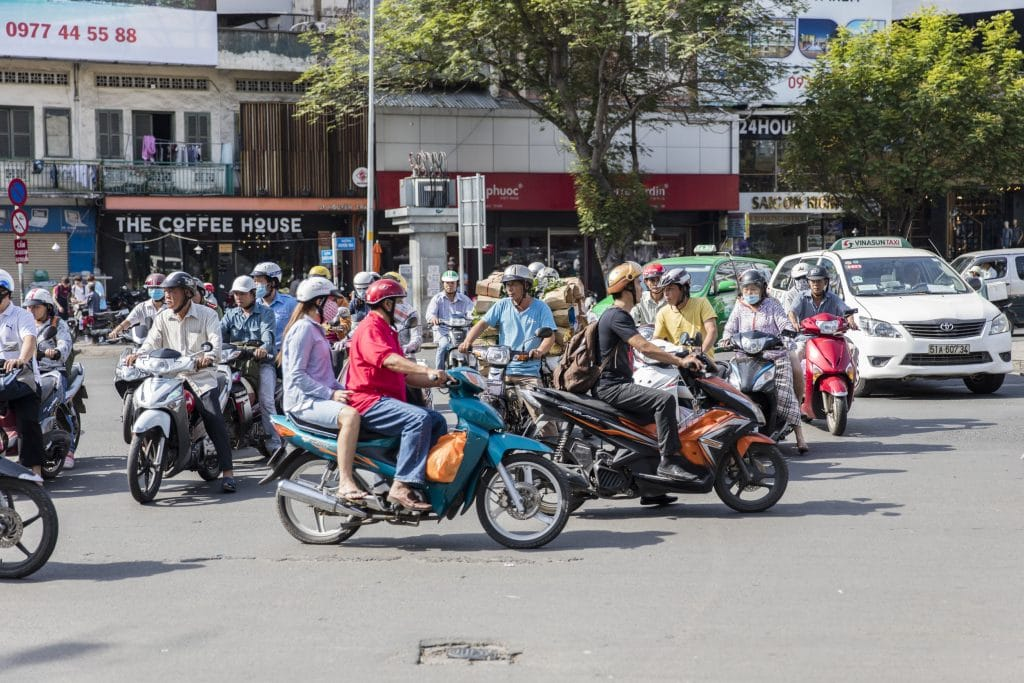 Moto-taxi Vietname