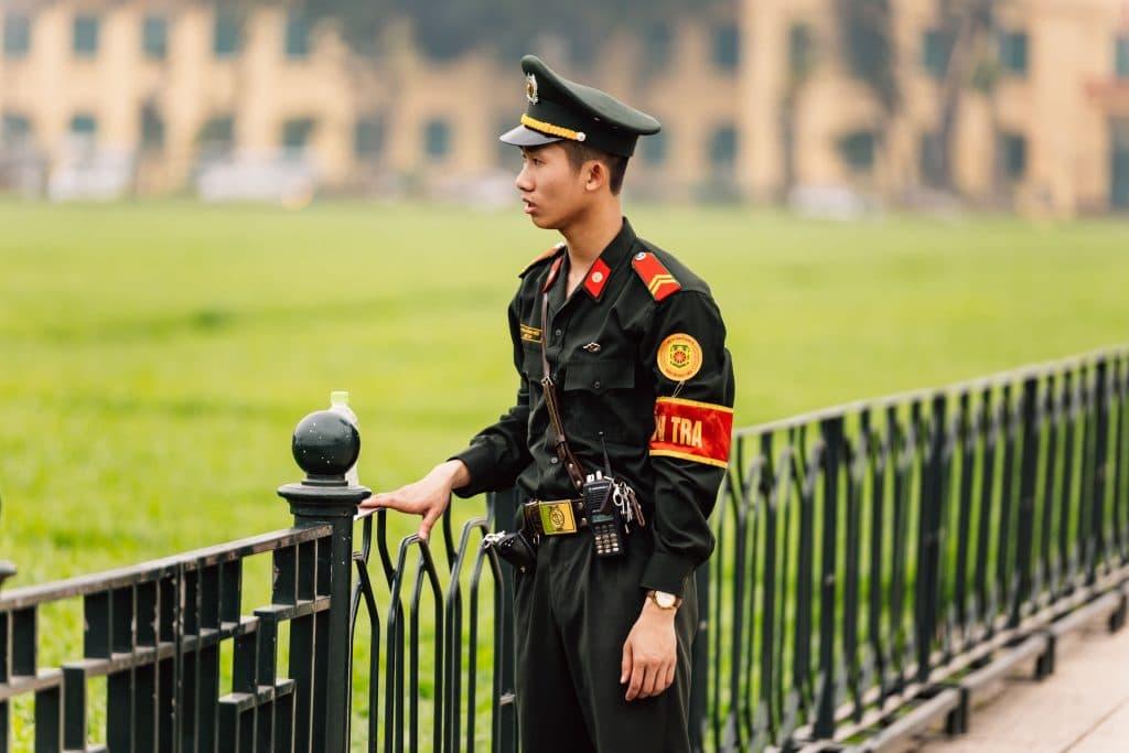Segurança no Vietname