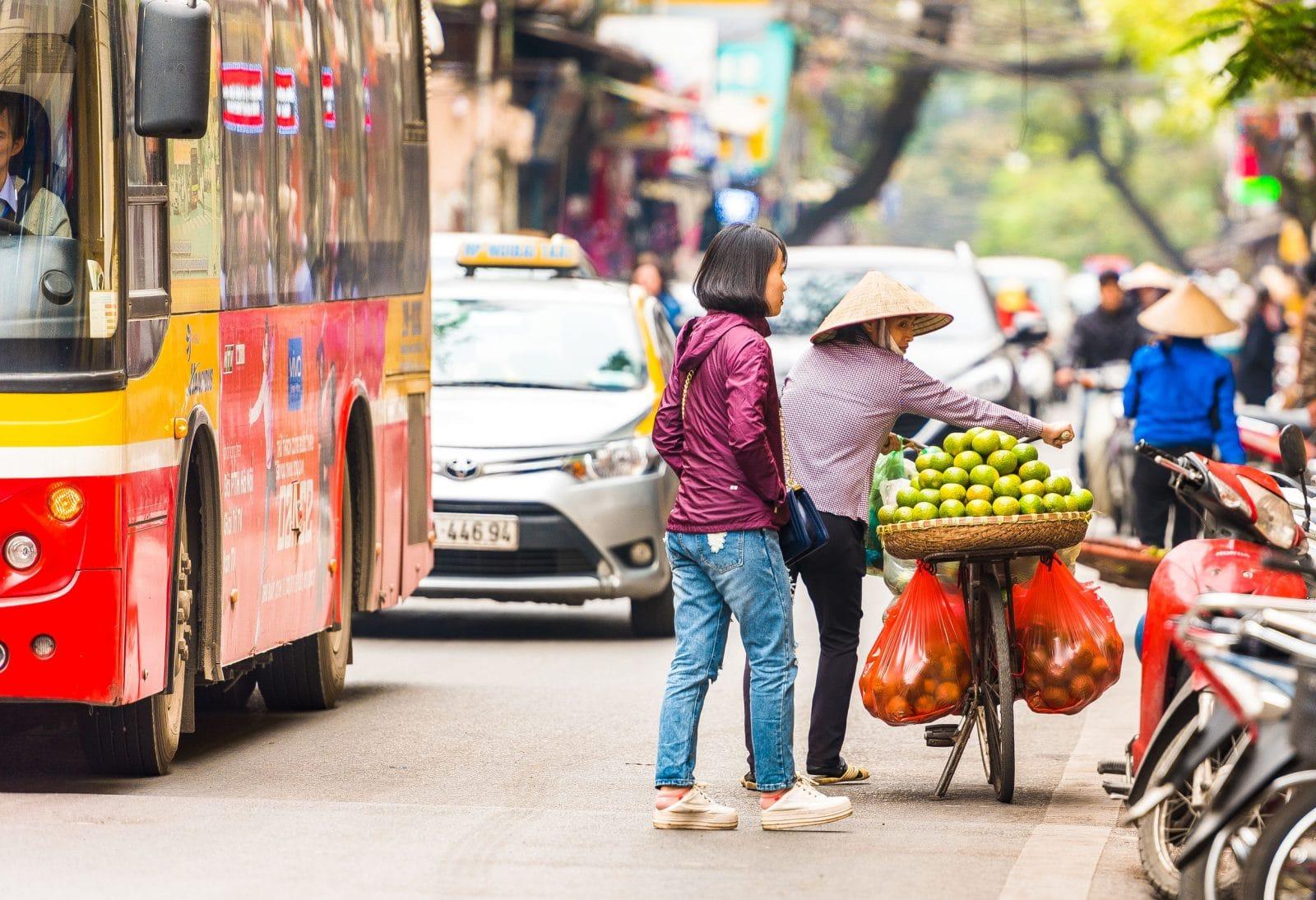Transportes no Vietname