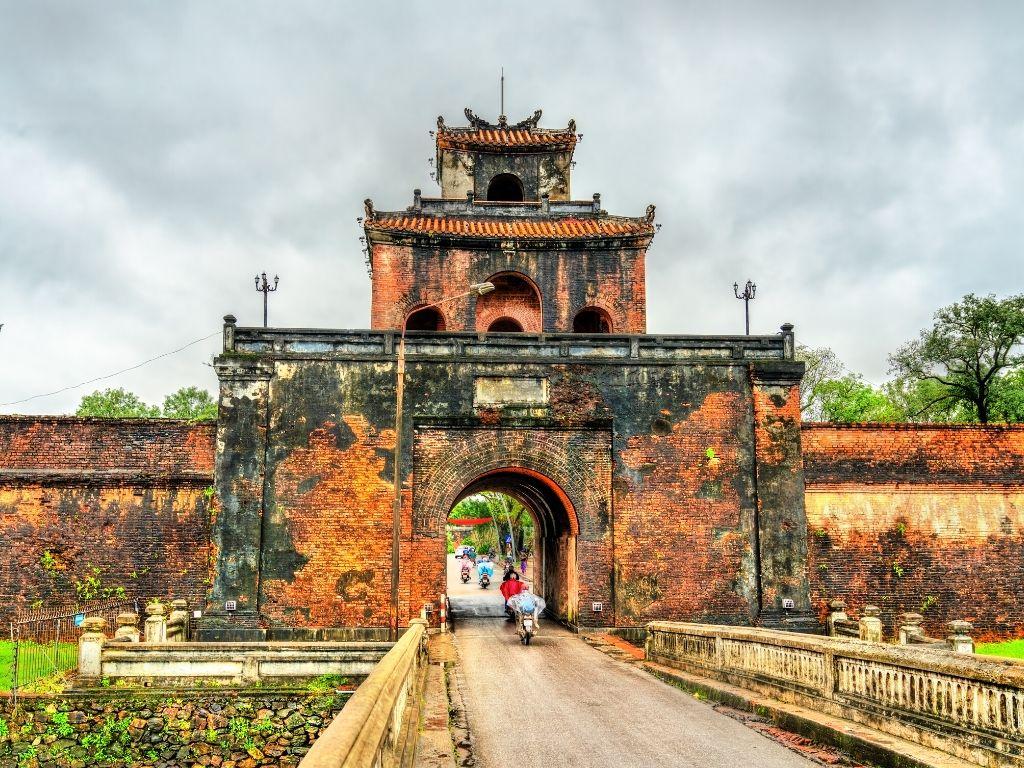 A Cidade Imperial de Hue no Vietname