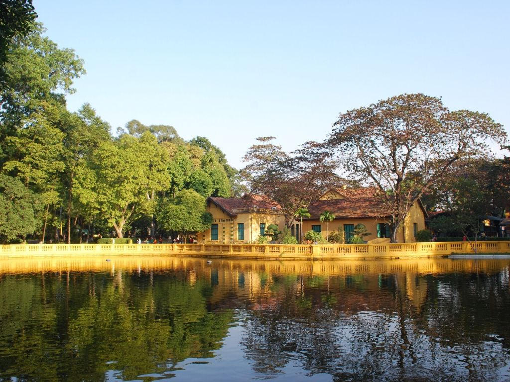 Casa Palafita de Ho Chi Minh em Hanoi
