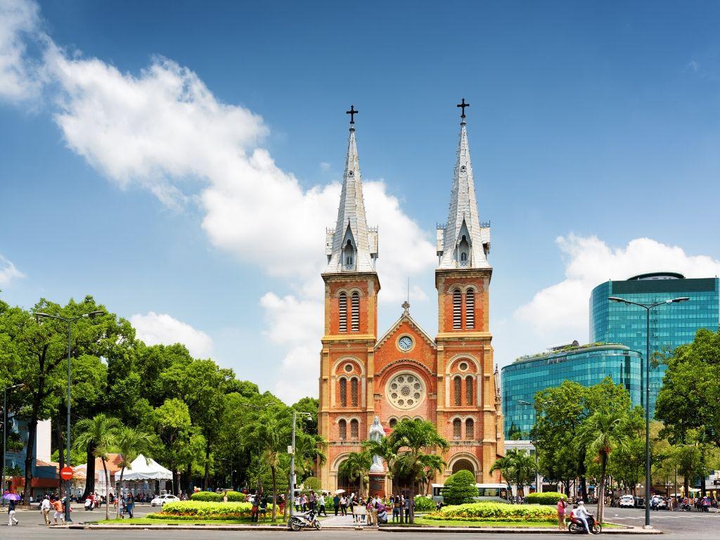 Catedral de Notre Dame em Saigao