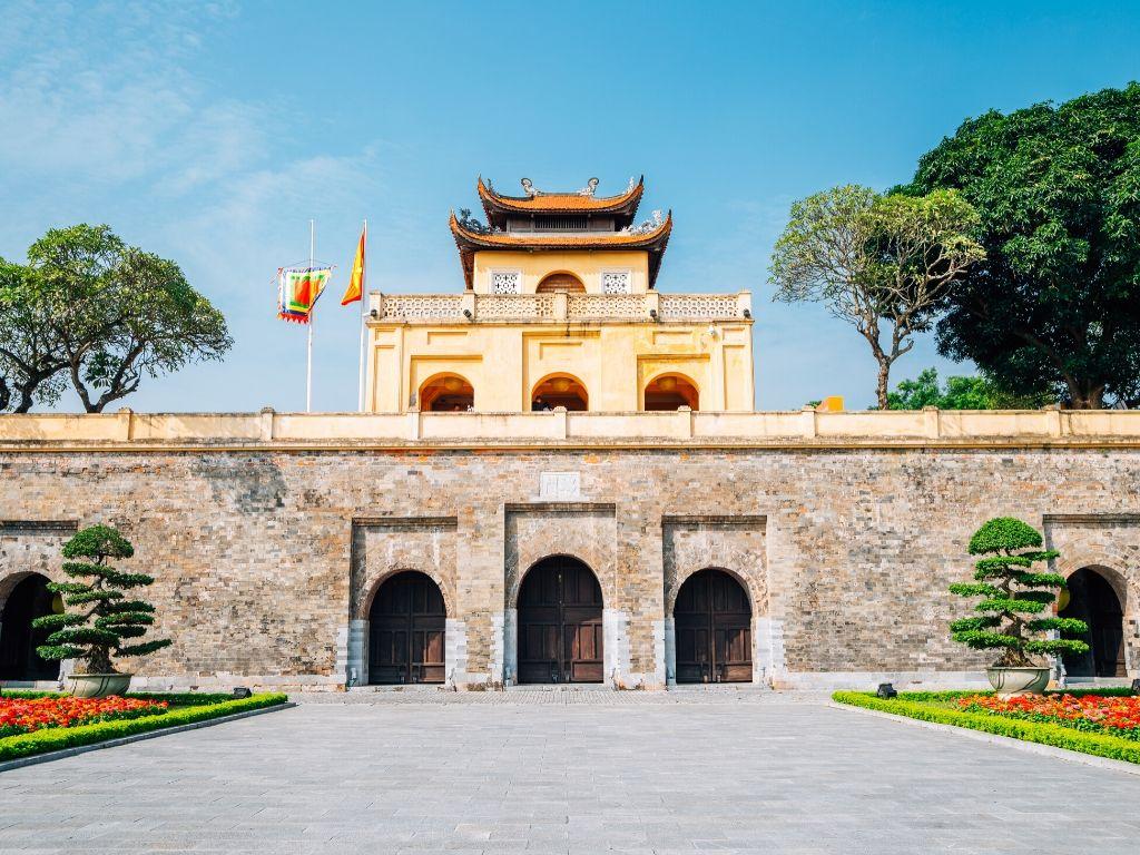 Cidadela Imperial de Thang Long em Hanoi