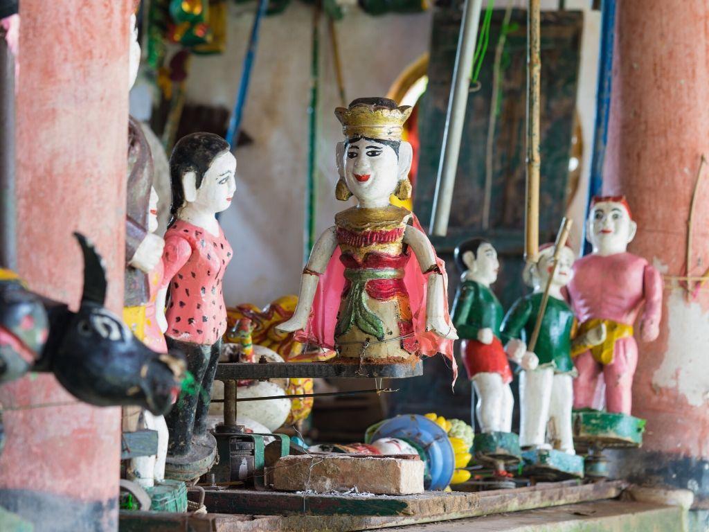 Espectaculo de Marionetes na Agua em Hanoi