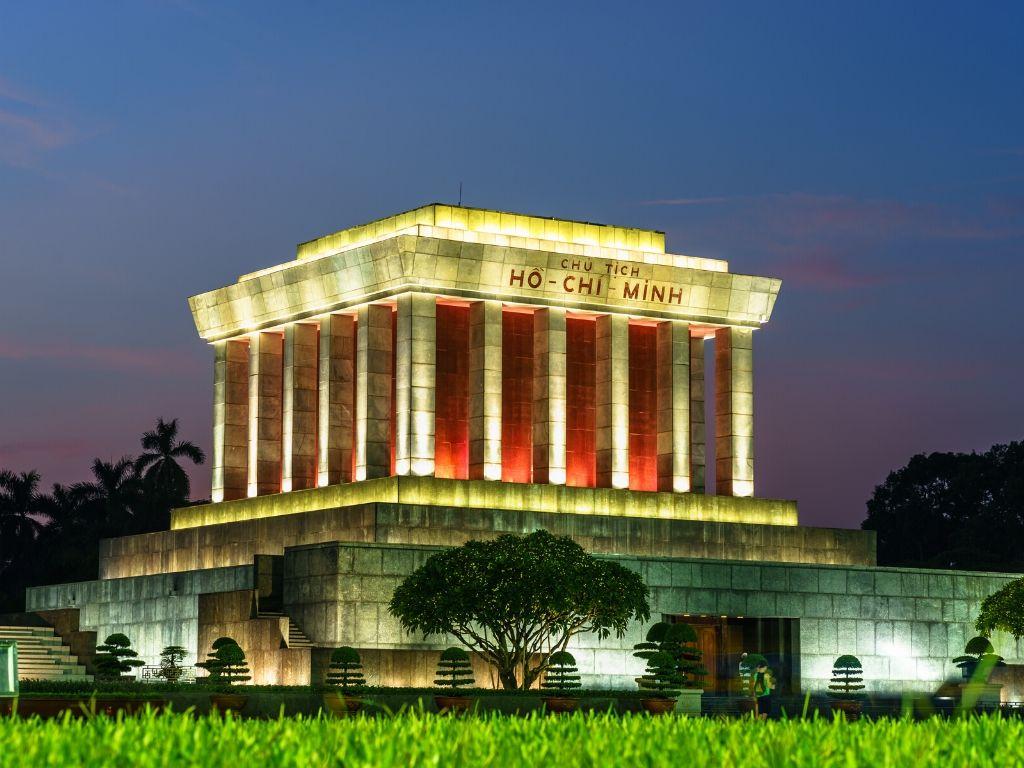 Mausoleu de Ho Chi Minh em Hanoi