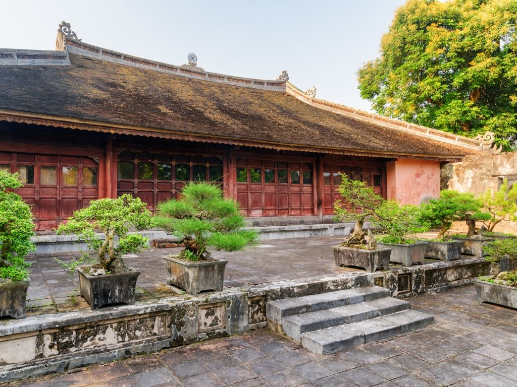 Mausoleu de Tu Duc em Hue no Vietname