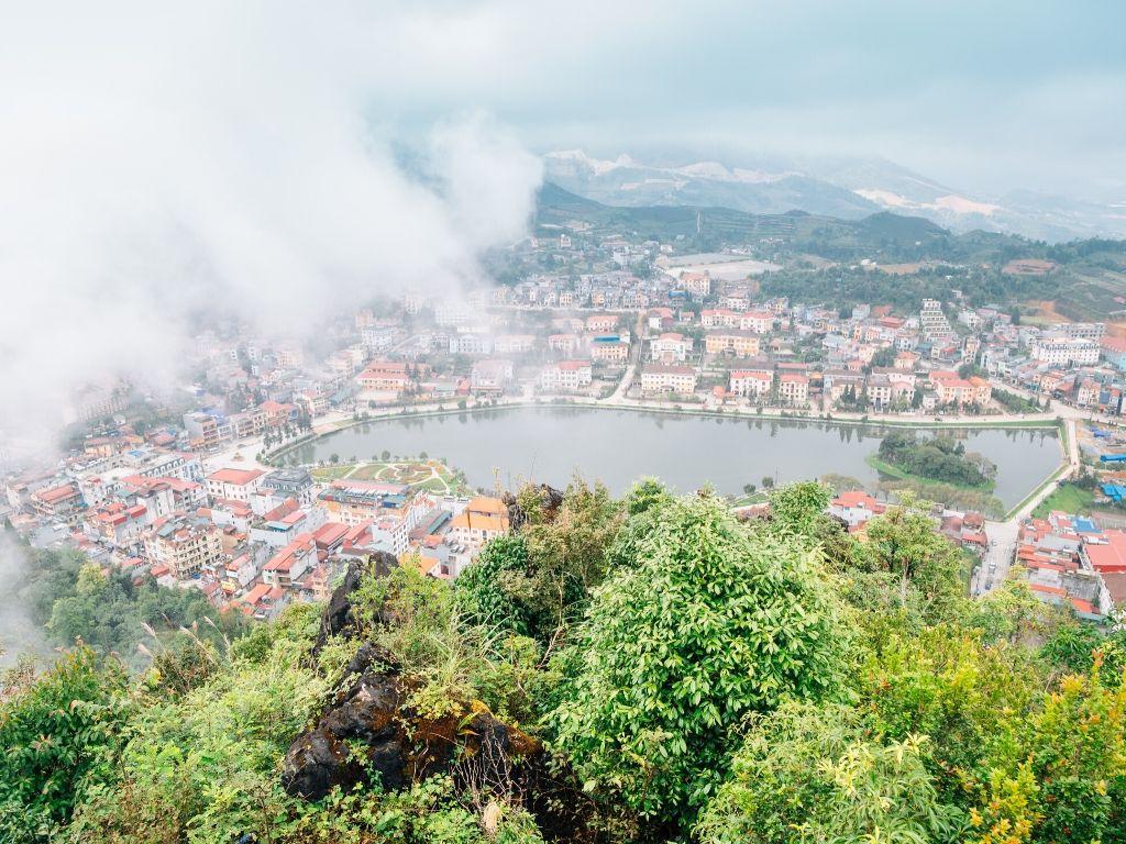 Monte das Antenas em Sapa no Vietname