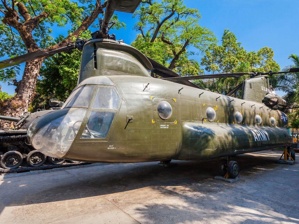 Museu dos Vestigios da Guerra em Saigao