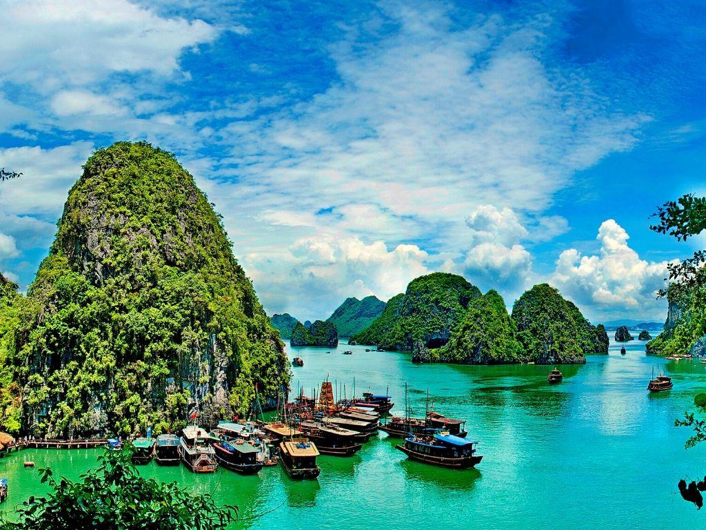 Onde fica Halong Bay no Vietname