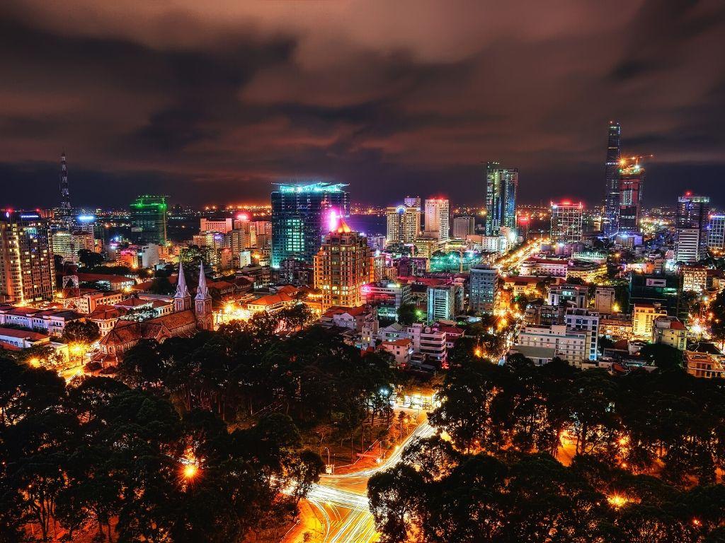 Onde fica Ho Chi Minh