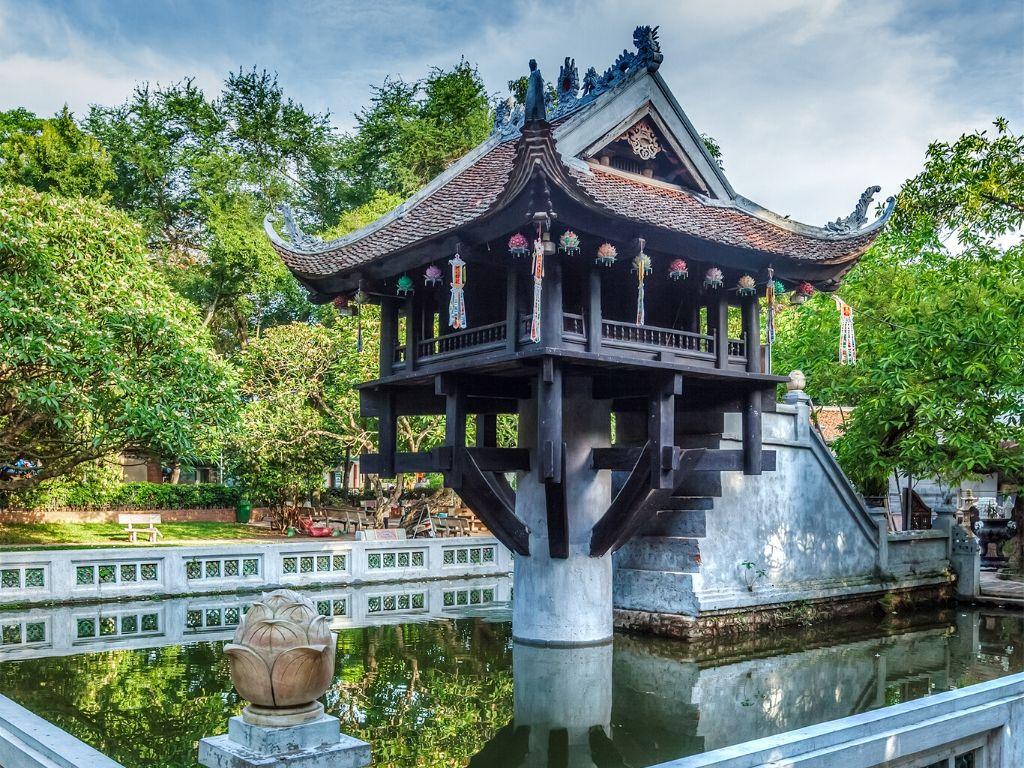 Pagode de Um Pilar em Hanoi
