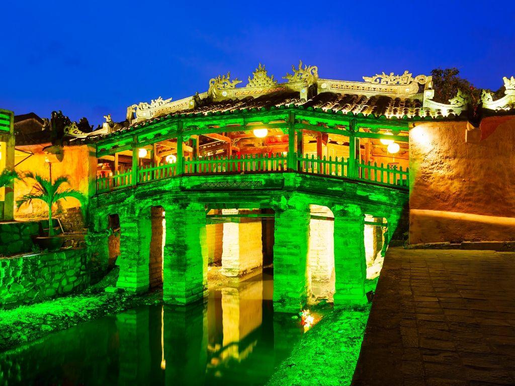 Ponte Japonesa em Hoi An no Vietname