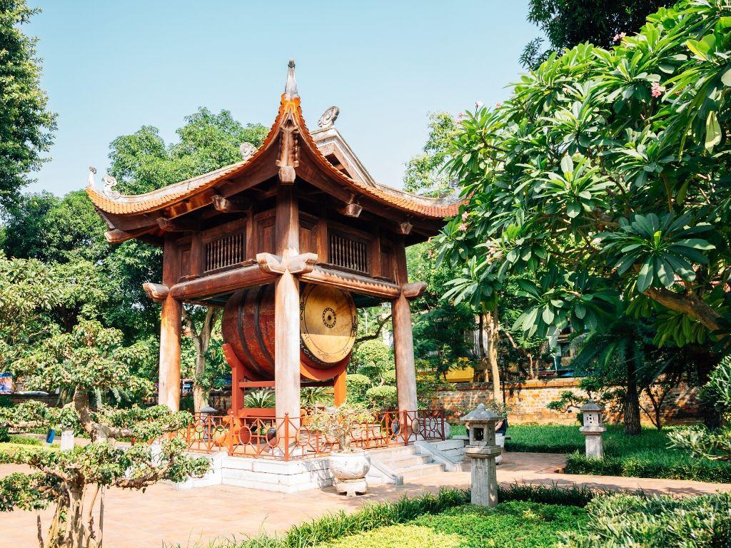 Templo da Literatura em Hanoi