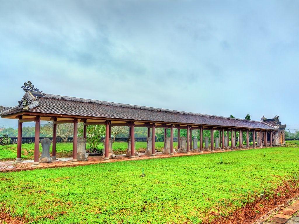 Templo da Literatura em Hue no Vietname