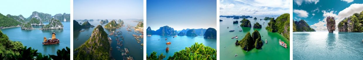 Visitar Halong Bay no Vietname