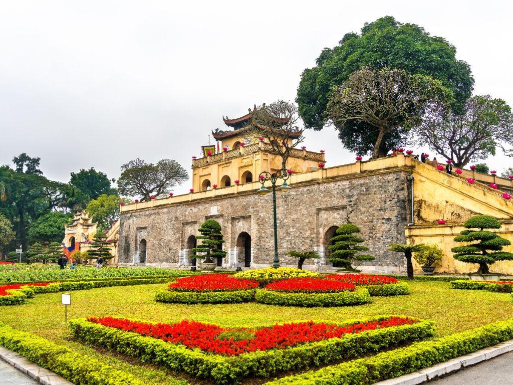 Cidadela em Hanoi Vietname