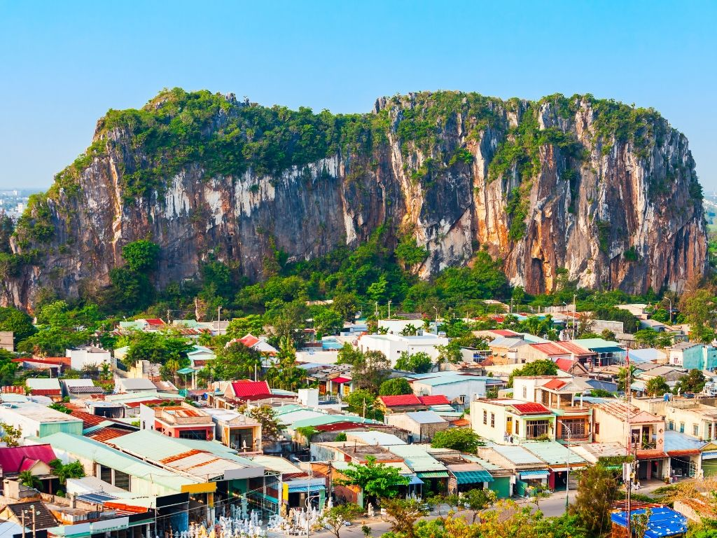 Montanha em Da Nang Vietname