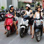 Viajar de mota no Vietname