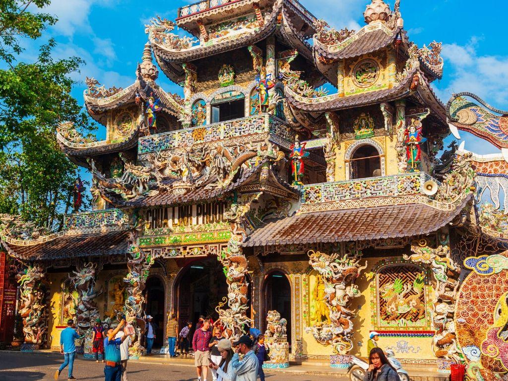 Templo em Dalat Vietname
